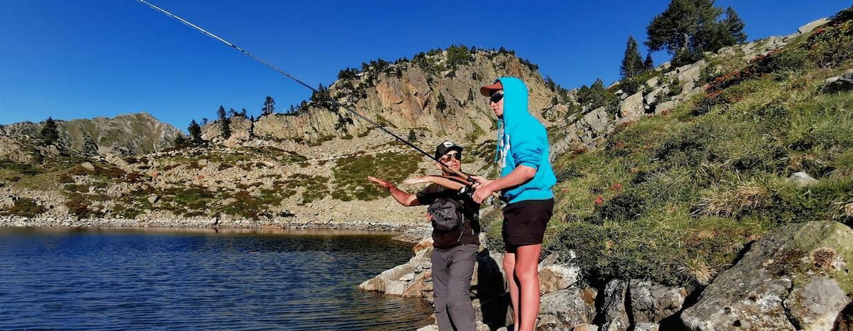Stages de pêche dans les Pyrénées